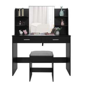 usikey Makeup Table for Bedroom and Bathroom