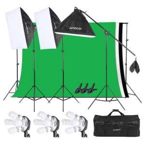 7. Andoer Softbox Light Kit