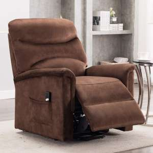 7. Bonzy Home Lift Recliner Chair w/ Remote Control (Brown D097)