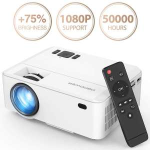 DBPOWER 3500 Lux 50,000Hrs Mini Projector