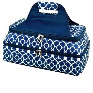 Picnic at Ascot Original Insulated Double Casserole Carrier