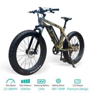 7. Vtuvia Fat Tire Mountain E-Bike