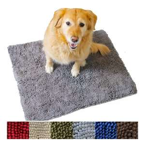 8. Enthusiast Gear Dog Ultra Absorbent Non-Slip Mud Door Mat – Washable