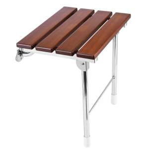 8. JCWANGDEFU Folding Shower Seat with Support Legs