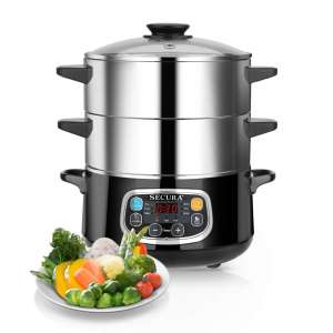 8. Secura Electric Food Steamer