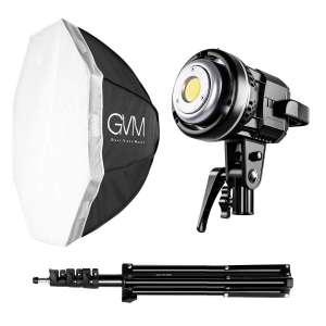9. GVM 80W Softbox Lighting Kit