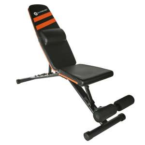 9. GYMENIST Adjustable Foldable Exercise Bench- NO Assembly Needed