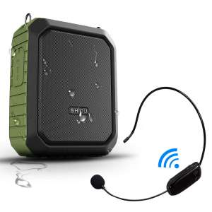 9. HW HAOWORKS Portable and Waterproof Voice Amplifier