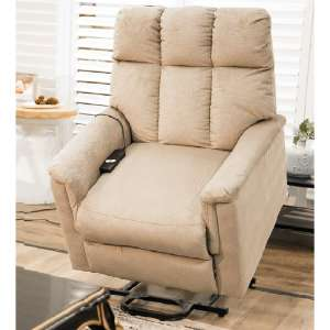 9. Rhomtree Power Lift Chair for the Elderly (Beige)