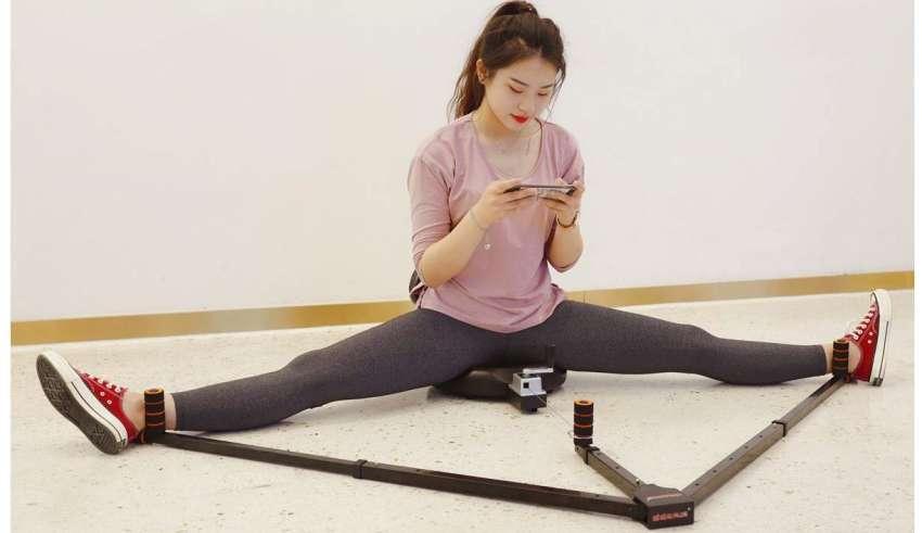 Leg Stretch Machine