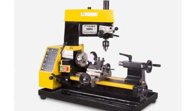 Mill drill lathe