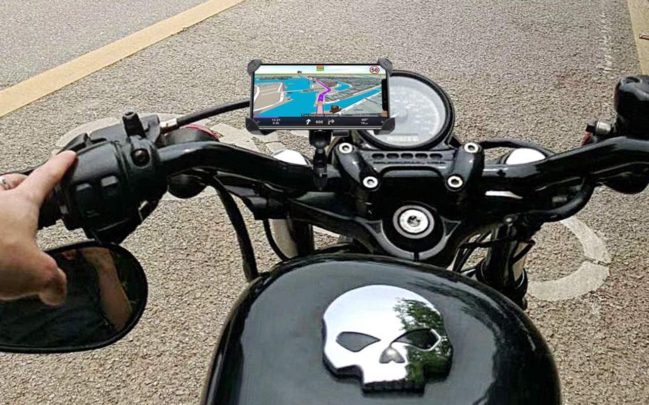 Universal Premium Bike Phone Mount /—/— Bike /& Motorcycle Phone Mount Aluminum Alloy Rotating Mobile Rearview Mirror Mount Phone Stand for Bike