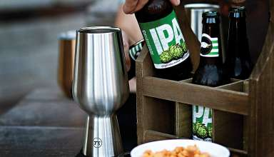 Stainless Steel Beer Glass
