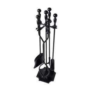 Amagabeli 5Pcs Fireplace Tools Set