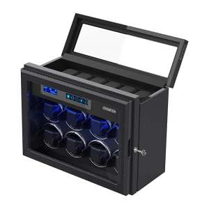 JINS&VICO Watch Winder for the Automatic Watches, Built-in Illumination