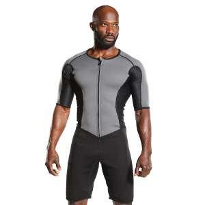 Kutting Weight Fat Burner Sauna Suit Short Sleeve Body Toning Clothing