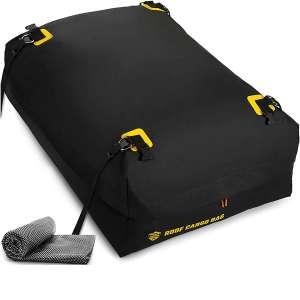ToolGuards Car Top Carrier Roof Bag + Protective Mat