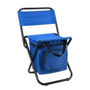 LEADALLWAY Foldable Camping Chair with Cooler