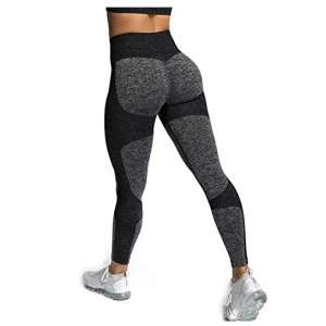 Zarjar High Waisted Leggings Workout Pants for Women