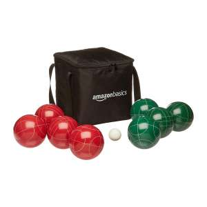 AmazonBasics Bocce Set w/Soft Carry Case