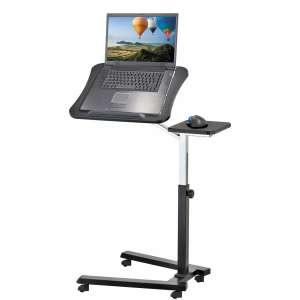 TatKraft Joy Portable Laptop Desk Table with Mouse Pad