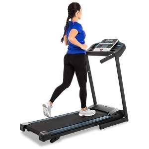 2. XTERRA Fitness Folding Treadmill - Black