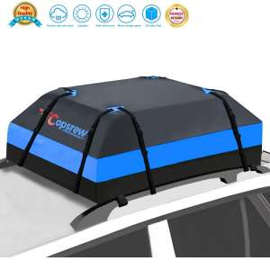 Copsrew 20 Cubic ft Car Roof Bag Top Carrier