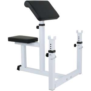 F2C Arm Seated Weight Preacher Curl Bench