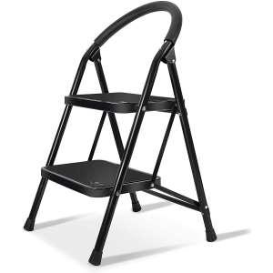 XinSunho 2-Step 330lbs Anti-Slip Ladder