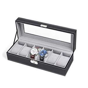 NEX 6-Slot Watch Case Organizer