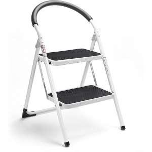 Delxo 2-Step Stool Folding Ladder