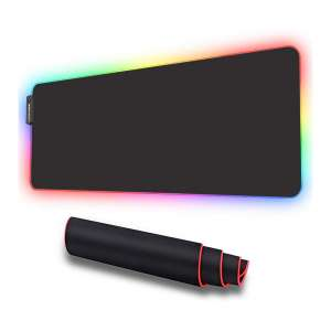 LUXCOMS RGB Soft Gaming Mouse Pad