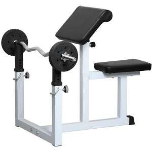 Topeakmart EN957 Preacher Curl Weight Commercial Bench