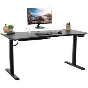 5. VIVO Black Long Multipurpose Desk