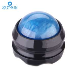5. ZONGS Manual Massage Ball for Sore Muscles (Blue)