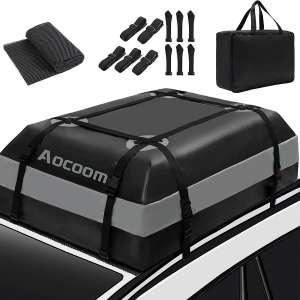 Aocoom Waterproof Car Top Luggage Storage Bag