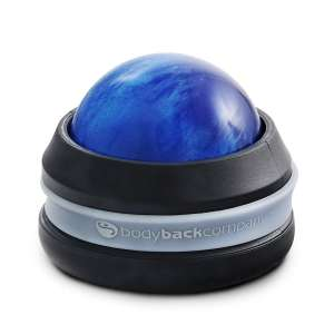 6. Body Back Ball Massage Roller, Blue
