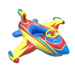 Topwon Inflatable Baby Swimming Float (Blue)