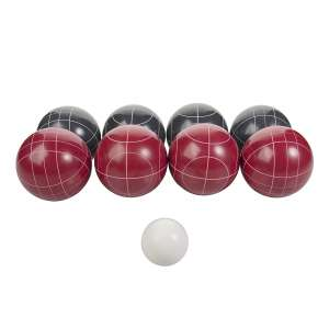 Triumph Competition Resin Bocce Ball Set w/Carrying Bag