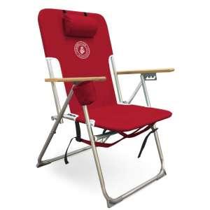 Caribbean Joe 5 Position High Weight Folding Beach Chair