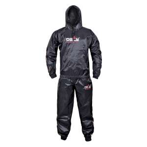 DEFY Heavy Duty Weight Loss, Sweat Suit Gym Suit Fitness, with Hood