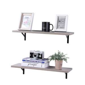 SUPERJARE Wall Mounted Floating Shelves