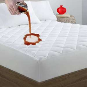 7. Safe and Sound 100% Waterproof Mattress Cover