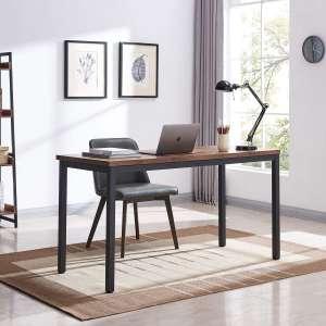 "7. VINEXT 55"" Industrial Long Desk"