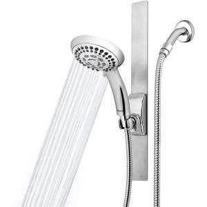 Waterpik Adjustable Height Shower Head, Chrome