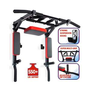Kit4Fit Pull Up Bar and Dip Station