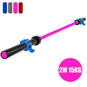 8. Popsport Olympic Barbell Full Body Workout Bench Press Bar
