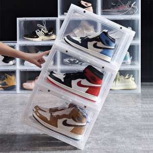 ZODDLE Foldable Shoe Storage Container