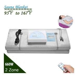 4YANG 2 Zone Far-Infrared Sauna Blanket