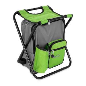 Camco Folding Camping Stool Backpack Cooler Trio